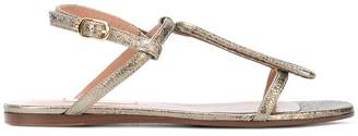 L'Autre Chose flat court sandals