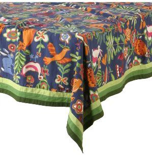Flora & Fauna Tablecloth