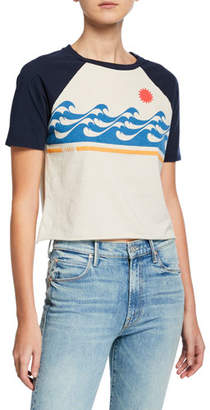 Mother The S/S Concert Cropped Graphic Tee