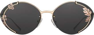 Prada oval-frame sunglasses