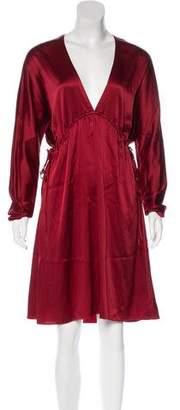 Elizabeth and James Long Sleeve Midi Dress