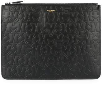 Givenchy 'Paris' zipped pouch