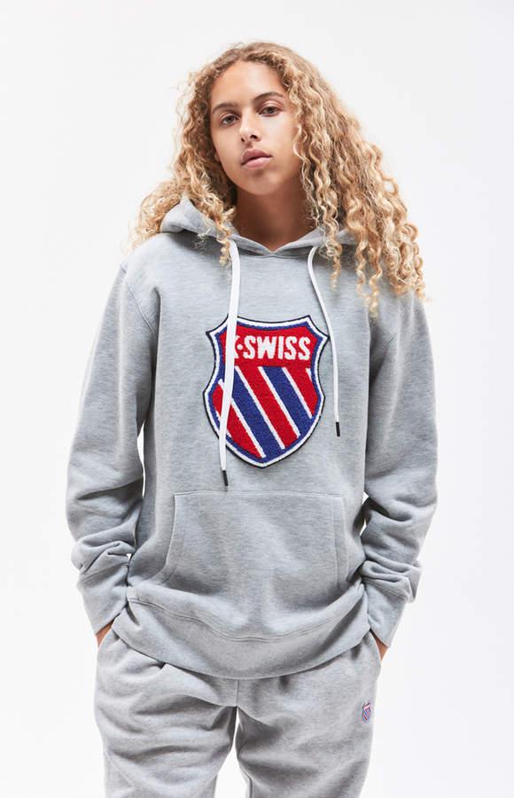 K Swiss Heritage Shield Pullover Hoodie