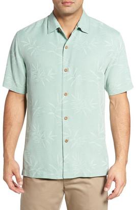 Tommy Bahama Luau Floral Short Sleeve Silk Shirt (Big & Tall) $140 thestylecure.com