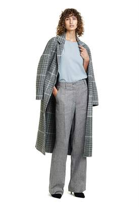 Country Road Longline Check Coat