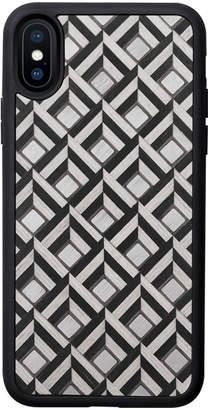 Tarxia Xaria Hand-Crafted Wood Inlay iPhone X / Xs Case