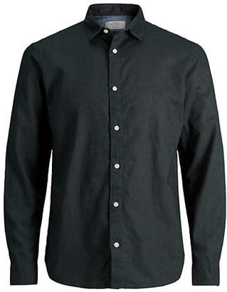 Jack and Jones Jornew Lee Woven Button-Down Shirt