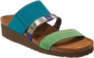 Naot Footwear Brenda Wedge Leather Sandal