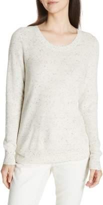 Eileen Fisher Flecked Knit Sweater