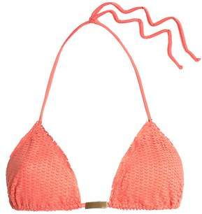 Vix Paula Hermanny Nobu Laser-Cut Triangle Bikini Top