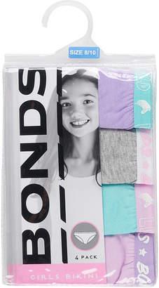 Bonds Fun Pack Bikini 4 Pack