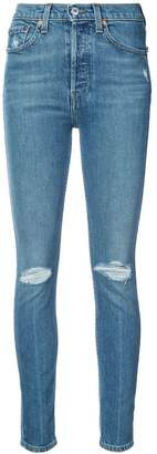 RE/DONE skinny distressed jeans