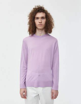 Acne Studios Nami Crewneck Sweater in Lilac Purple