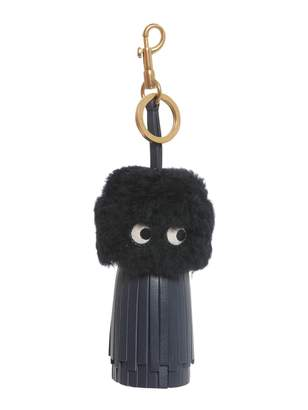 Anya Hindmarch Eyes Charm With Leather Tassel