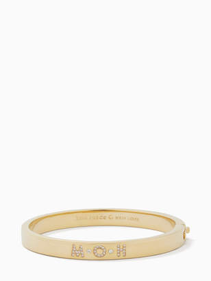 Kate Spade her day to shine pave moh bangle