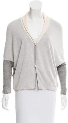 Calvin Klein Collection Dolman Sleeve Cashmere Cardigan