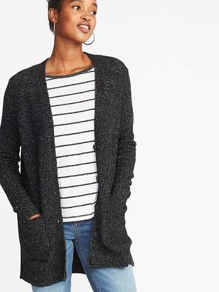 Old Navy Bouclé Boyfriend Cardi for Women