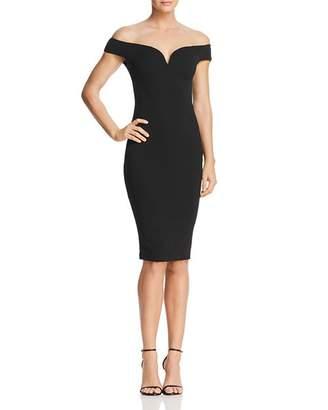 Nookie Elena Off-the-Shoulder Dress