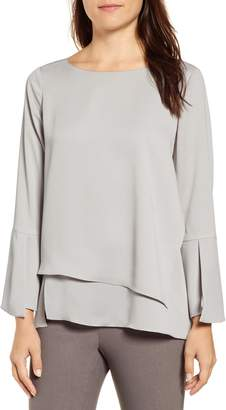 Nic+Zoe Wrapped Up Layered Blouse