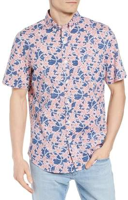 Vineyard Vines Slim Fit Tucker Batik Floral Woven Shirt
