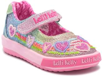 Lelli Kelly Kids Rainbow Hearts Shoe (Baby & Toddler)
