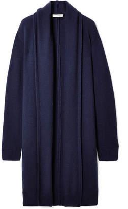The Row Elado Cashmere And Silk-blend Cardigan - Blue