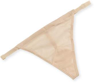 HAH / We Are HAH Mesh Signature-Mesh G-String Thong Underwear