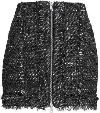 Jonathan Simkhai Sparkle Boucle Mini Skirt