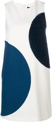 Paule Ka half circle A-line dress