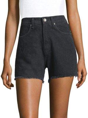 Rag & Bone Torti High-Rise Cotton Shorts