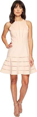Adelyn Rae Women's Peggy Knit Fit and Flare