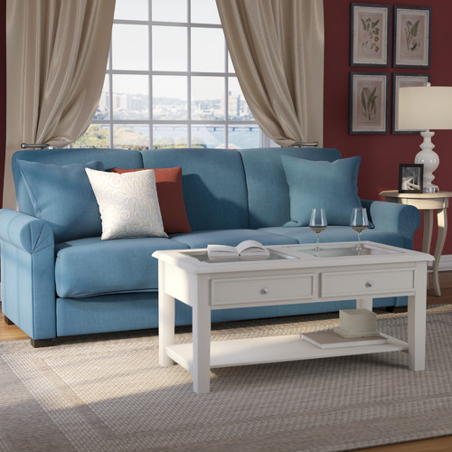 Alcott Hill Lawrence Full Convertible Upholstered Sleeper Sofa