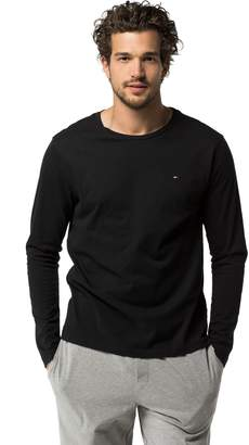 Tommy Hilfiger Cotton Icon Long-Sleeve Tee