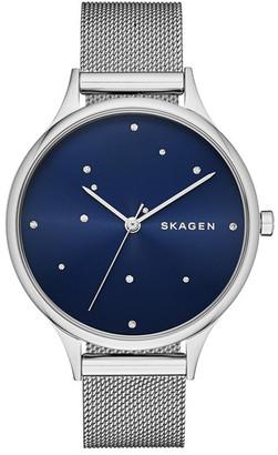 Skagen Women&s Anita Stainless Steel Watch $145 thestylecure.com