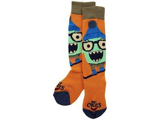 Hot Chillys Kids In Your Face Mid Volume Sock (Toddler/Little Kid/Big Kid)
