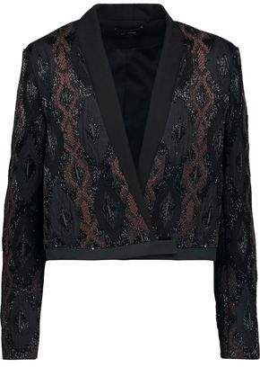 Isabel Marant Lynley Embellished Wool-Blend Crepe Jacket