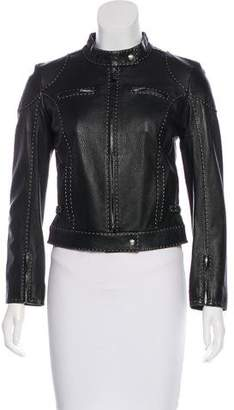 Fendi Selleria Leather Jacket