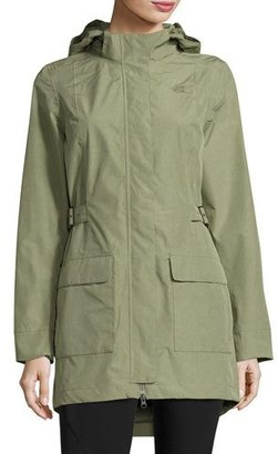 The North Face Tomales Bay Tweed DryVentTM Jacket, Deep Lichen Green $180 thestylecure.com