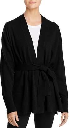 Aqua Tie-Waist Cashmere Robe Cardigan - 100% Exclusive