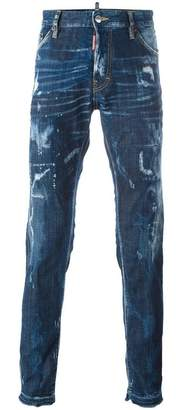 DSQUARED2 'Cool Guy' bleached effect jeans