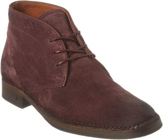 John Varvatos Collection Suede Chukka Boot