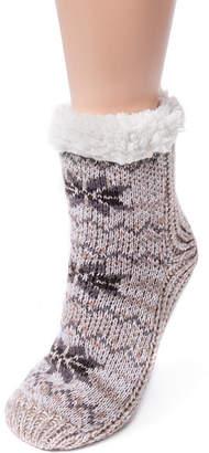 Muk Luks 1 Pair Crew Socks - Womens