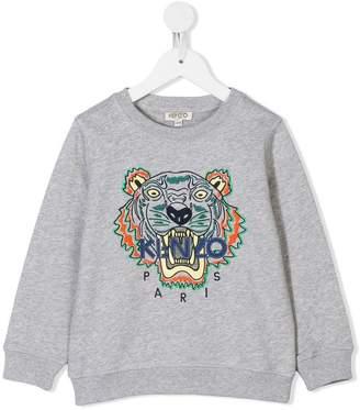 Kenzo tiger embroidery sweatshirt