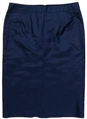 CNC Costume National Silk Knee-Length Skirt