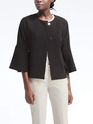 Bell-Sleeve Jacket $168 thestylecure.com