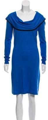 Temperley London Merino Wool Knee-Length Dress
