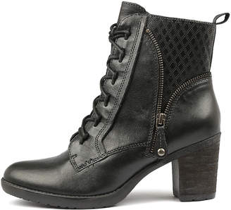 Earth Missoula Black Boots Womens Shoes Ankle Boots