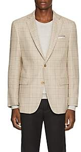 Pal Zileri MEN'S CHECKED WOOL-BLEND TWO-BUTTON SPORTCOAT