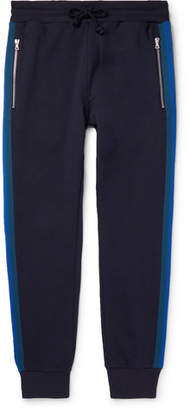 Dries Van Noten Slim-Fit Tapered Striped Loopback Cotton-Jersey Sweatpants