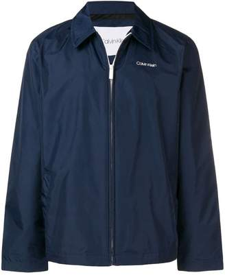 Calvin Klein zipped shirt jacket